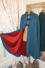 1970s blue victoriana cape - Ditsy Vintage - One Size