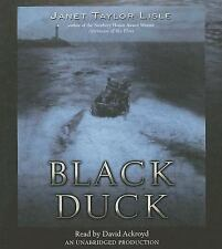 Black Duck by Janet Taylor Lisle (2007, CD, Unabridged) Audiobook GOOD