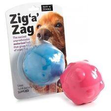Ruff 'N' ASCIUGATURA A ZIG ZAG una palla motorizzata GIOCATTOLO PER CANE DOG BALL TOY