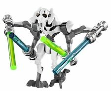 White General Grievous Star Wars Minifigures Minifigs Compatible With Lego