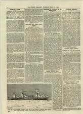 1892 Inman Liner City Of Paris Transfer United States Slavery In Queensland