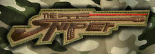 ARMY MILITARY MORALE MULTICAM SPECIAL BLACK OPS SNIPER VELCRO PATCH
