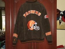 Cleveland Browns suede/leather jacket