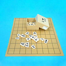 New Japanese Chess Shogi Set Vinyl Board & Plastic Koma Piece with Box