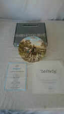 Wedgwood Limited Edition Plate End of the Day Boxed Certificate  by J L Chapman