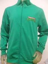 NWT Mens Small Green Teenage Mutant Ninja Turtles 2008 Zip Up Track Jacket TMNT