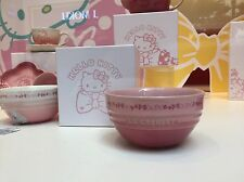 New Le Creuset x Hello Kitty Rice Bowls Pale Rose & Powder Pink For HK Shop Only