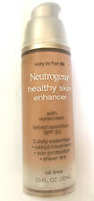 NEW - Neutrogena - Healthy skin - Enhancer spf 20 # Ivory to Fair 10 -  1.oz