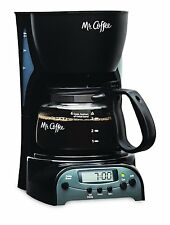 DMr. Coffee 4-Cup Programmable Coffeemaker, DRX5 by Mr. Coffee (DRX5-NP) CKM NEW