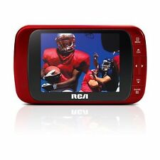 "RCA DHT235A 3.5"" LED-HD TV (RED) AC & DC charger Included ."
