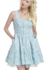 Disney Alice Through The Looking Glass Corset Tea Party Dress Size Small NWT!