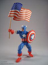 Marvel Comics figurine de collection Captain America avec drapeau 10 cm Comansi