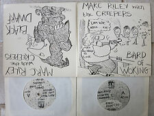 """MARC RILEY with the CREEPERS - 4 A's From Maida Vale  2x7"""" Singles      FALL"""