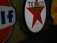 Texaco Lighted Sign