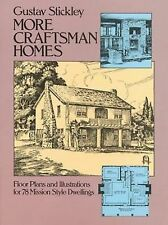 More Craftsman Homes : Floor Plans and Illustrations for 78 Mission Style...