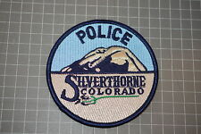 Silverthorne Colorado Police Department Patch (B17-2)