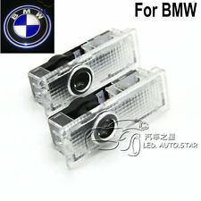 2x LED Car door Led Welcome laser projector Logo Ghost Shadow Light Bulb For BMW