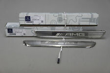 New genuine Mercedes C class W205 E W213 AMG LED illuminated door sill panels