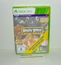 JEU XBOX 360 COMPLET  ANGRY BIRDS STAR WARS