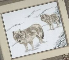 Great White Wolves Cross Stitch Chart