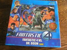 2005 Pressman Marvel FANTASTIC 4 vs DR. DOOM Game 2-4 Players Ages 7+~~NIB!!