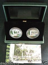 Singapore 2008 Changi Airport T3 Silver & Nickel 2-1 $5 Coin ((Rare))