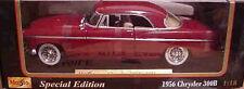1956 Chrysler 300B Red 1:18 Maisto 31897