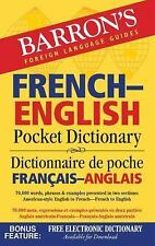 Barron's French-English Pocket Dictionary: 70,000 words, phrases & examples pres