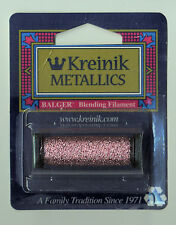 Kreinik Blend - 55Yd Spool of #007 Pink Metallic Blending Filament