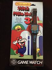 Nintendo Super Mario Bros .3 LCD Game & Watch reloj * nuevo/New *