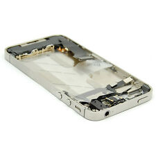 GENUINE Complete Full Mid Frame Bezel Assembly For IPhone 4S Any Carrier Apple!