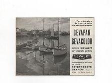 Pubblicità vintage 1959 GEVAERT PELLICOLE FOTO PHOTO advertising reklame werbung