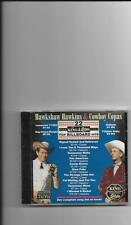 "HAWHSHAW HAWKINS & COWBOY COPAS, CD ""22 ORIGINAL BILLBOARD HITS"" NEW SEALED"