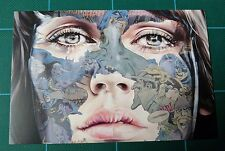 Sandra Chevrier Mini Print La Cage Showcard Graffiti Comic Book Street Art