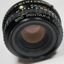 PENTAX A SMC 50mm F1.7  lens for K5 K7 K200D K20D 10D K100D ISTD K1000 KR KM PK