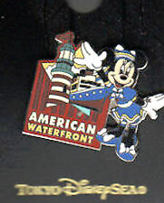 Tokyo Disney Sea AMERICAN WATERFRONT MINNIE & S S COLUMBIA  PIN