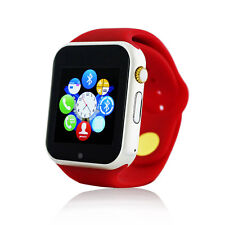 Bluetooth Wrist Smart Watch Phone Mate for Android Samsung iPhone 5s 6s RED