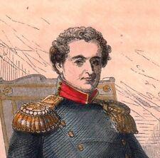 Portrait XIXe Christian VIII de Danemark Denmark 1845 King of Norway