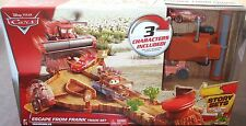 Disney Pixar CARS ESCAPE FROM FRANK Story Track Set Playset w/ McQueen & Tractor