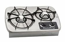 RV Gas stove top portable propane camping stove Flame King. Ysn-ht-600