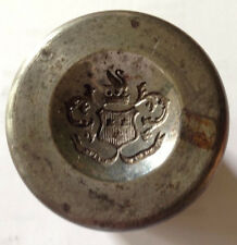 Indian Wars, Heavy Steel Die for Buttons/Pins, What State/Country? *Super Nice*