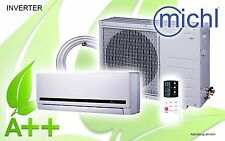 Michl Inverter Single-Split Klimagerät, Klimaanlage 9000 BTU, 2,6 kW, A++