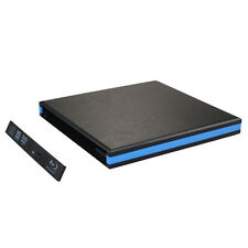USB 3.0 External Enclosure Case For CD DVDRW Blu Ray 12.7mm SATA Drive Thrifty