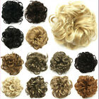 Fashion Women Lady New Pony Tail Hair Extension Bun Hairpiece Scrunchie