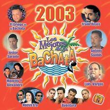 Various Artists-Los Mejores De La Bachata 2003 CD NEW