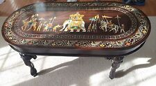 Indian Handmade Rosewood coffee table (Asian Handcrafted Furniture)