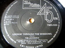 "THE JACKSON 5 - LOOKIN' THROUGH THE WINDOWS     7"" VINYL"