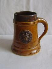 Unusual Pottery Tankard dated 1950: St Andrews: Brother H L Orchard Master 1940