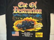 Vintage US Army Transportation Museum Virginia Eve of Destruction T Shirt M