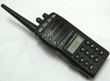 Motorola GP68 UHF 430-470MHz 4W 20 Channel 2-Way Radio + Accessories W/O BATTERY